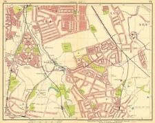 LONDON SE. Rushey Green Grove Park Catford Sydenham Beckenham Bromley 1930 map