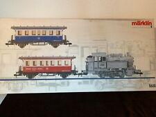 Märklin 5510 Zugpackung Dampflok mit 2 Wagen   ( M 63)