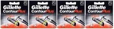 Gillette Contour Plus (Gillette Atra Plus) Refill Blade, 20 Cartridges NEW