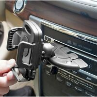 Car CD Slot Phone Mount Holder for Apple iPhone Samsung Galaxy LG Motorola HTC