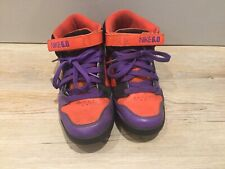 Nike 6.0 Red Purple Black UK Size 7.5 Retro Vintage Skate Trainers