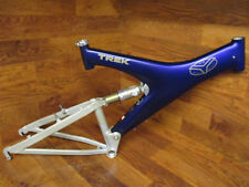 "VINTAGE TREK Y11 CARBON FULL SUSPENSION 26"" MOUNTAIN BIKE MTB FRAME FOX ALPS 4"