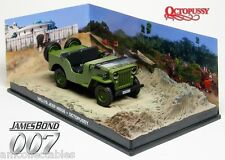 James Bond 007 Octopussy - 1953 WILLYS JEEP 1:43 Diecast Modello-Nuovo/Scatola Originale