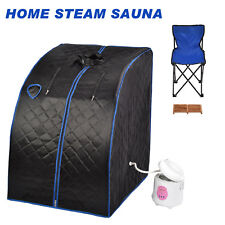 2L Home Steam Sauna Spa Full Body Slimming Loss Weight Detox Indoor Therapy