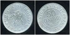 BOLIVIE   50 centavos 1995