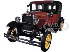 1931 FORD MODEL A TUDOR RUBELITE RED 1/18 DIECAST MODEL CAR BY SUNSTAR 6102