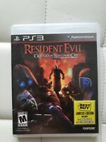 Resident Evil Operation Raccoon City Ps3 Best Buy Limited Edition
