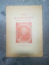 IL NAPOLETANO NEL TEATRO DI GOLDONI AUTOGRAFO FIORDELISI 1907