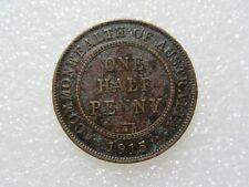 1915  ROO    HALFPENNY     1 RARE  COIN   LOWER GRADE