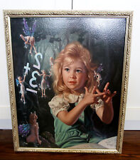 "Bob Byerley ""From One To Ten"" Giglee on canvas  45/395  Numbered and Hand Signed"