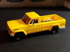 HO 1/87 SCALE Brekina 1962 Jeep Gladiator Pickup Yellow EXTRAS