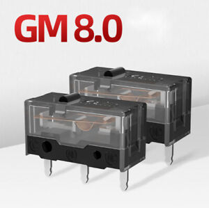 2 PACK Kailh GM 8.0 Black Micro Switch for Gaming Mouse Button 80 Million Clicks