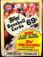 1987 Topps Baseball Cello Pack w/ RYNE SANDBERG on top HALL OF FAME INDUCTEE