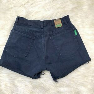 United Colors of Benetton Denim Shorts Black Size 30