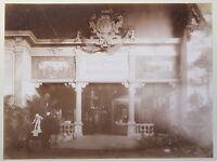 Alte Fotografie Pavillon Unterfranken & Aschaffenburg Hans Söhnlein 1897 xz