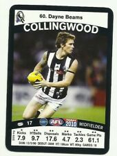 2010 AFL TEAMCOACH COLLINGWOOD DAYNE BEAMS #60 COMMON BASE CARD FREE POST