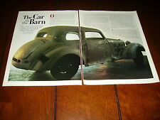 MERCEDES BENZ 540K NAZI BULLETPROOF CAR  ***ORIGINAL 1996 ARTICLE***