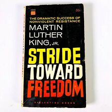 Stride Toward Freedom by Martin Luther KING JR.  | FIRST Paperback 1st 1958