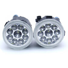 1 Pair Round Clear Lens LED Fog Driving Lights For Infiniti Nissan Murano Quest