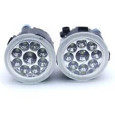 Pair Clear Lens LED Fog Driving light Lamp For Infiniti Nissan Murano Quest New