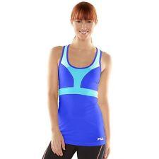NWT Women's size XL Fila Sport Blue Performance Racerback Workout Tank Top