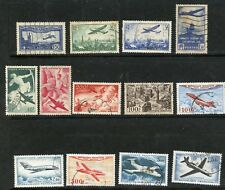 FRANCE--Lot of 17 different airmails