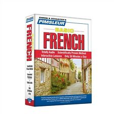 Pimsleur Basic French Language 5 CD Learn to Speak -NEW