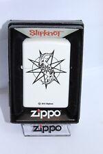 "Zippo ""SLIPKNOT"" - 214 - White MATE - NUEVO Y EMB. orig. - #1308"