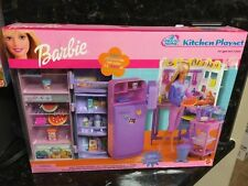 NEW Barbie All Around Home Kitchen Playset Refrigerator