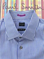 "PAUL SMITH MEN'S SHIRT 16"" Collar - Beautiful Striped Shirt"