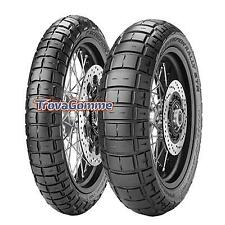 COPPIA PNEUMATICI PIRELLI SCORPION RALLY STR 110/80R19 + 140/80R17