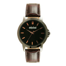 Kenneth Cole Unlisted Mens Brown Leather Watch UL2044