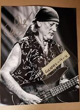 Roger Glover Signed Deep Purple Autograph COA Proof z