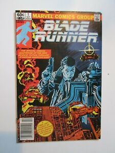 Blade Runner (1982) #1 and  #2 NM 9.2 BRONZE AGE  2 ISSUE SET Newstand!