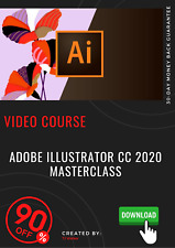 Adobe Illustrator CC 2020 MasterClass Video Training Tutorial