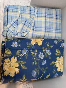 NEW LAURA ASHLEY Emilie Pillow Shams (2) Standard And Queen Bed skirt
