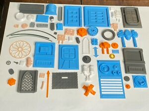Sci Fi Greebles for buildings scatter terrain Legion over 50pcs 3d printed Set c