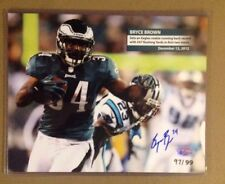 Bryce Brown 8x10 Autograph COA Signed Photo /99 Philly Eagles Seahawk Bills Auto