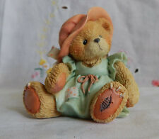 """CHERISHED TEDDIES  """"A MOTHER'S LOVE BEARS ALL THINGS"""" FIGURINE"""