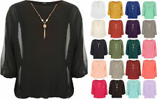 Viscose Crew Neck Party Long Sleeve Tops & Shirts for Women