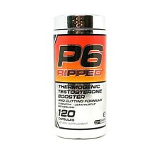 Cellucor P6 Ripped 120 Caps Increased Strength, Energy, Virility Test Support