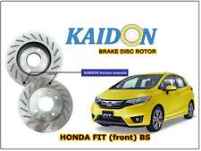 "HONDA FIT GK5 disc rotor KAIDON (front) type ""BS"" / ""RS"" spec"