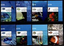 Fische. Korallenfische. 8W. Eckrand (1). Polen 2014
