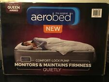 The Original Aerobed Queen Airbed ~ Comfort - Lock Pump