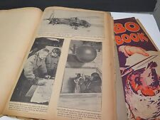 1930s & World War 2 Scrapbooks Transportation Planes Blimps Dirigible Pilots ++