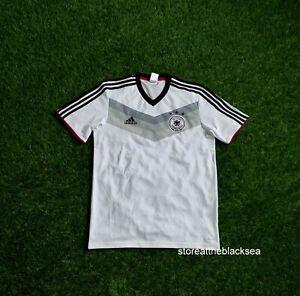 GERMANY NATIONAL TEAM 2014 CLIMALITE FOOTBALL SOCCER SHIRT JERSEY TRIKOT MEN M
