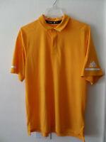 adidas Team Iconic Coaches Men's Polo Shirt Collegiate Gold White CY8047 New Tag