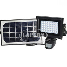 Solar IR 720P HD Video Recorder Motion Camera DVR Auto Flood Light 40 LED Lamp