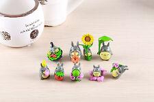 My Neighbor Totoro Mini Figure Chibi Figurine Toy Collectible Decoration 9PCS