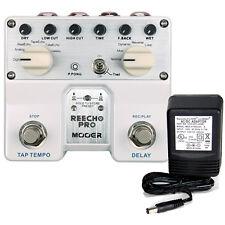 Mooer Reecho Pro Digital Delay w/Tap Tempo w/ 9v power supply free shipping!